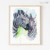 Mom and Baby Safari Animals | Set of 4 Digital Prints