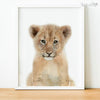 Baby Lion Cub Digital Print