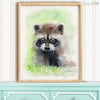 Baby Raccoon No.2 Digital Print