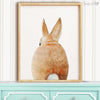 Bunny Rabbit Tail Shipped Print