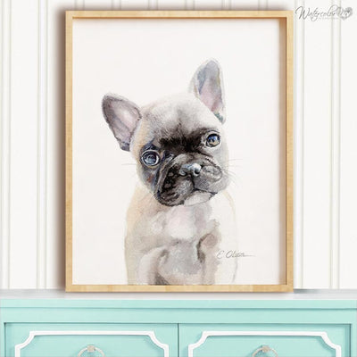 French Bulldog Puppy Digital Print