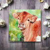 Texas Longhorn Calf Digital Print