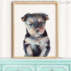 Yorkshire Terrier Puppy Digital Print