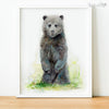 Baby Bear Cub Digital Print