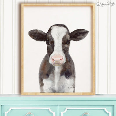 Baby Cow Digital Print