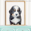 Bernese Mountain Dog Puppy Digital Print