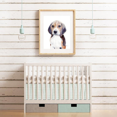 Beagle Puppy Digital Print