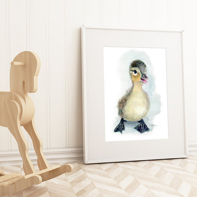 Baby Duckling Digital Print