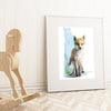 Baby Fox No.2 Shipped Print