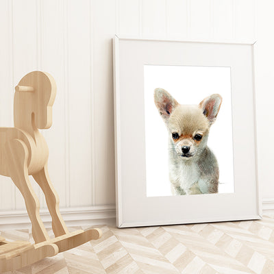 Chihuahua Puppy Shipped Print