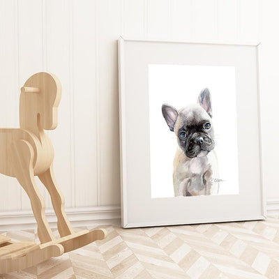 French Bulldog Puppy Shipped Print