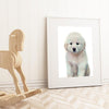 Great Pyrenees Puppy Digital Print