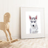 Husky Puppy Digital Print