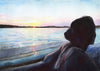 Evening Cruise Original Watercolor Painting