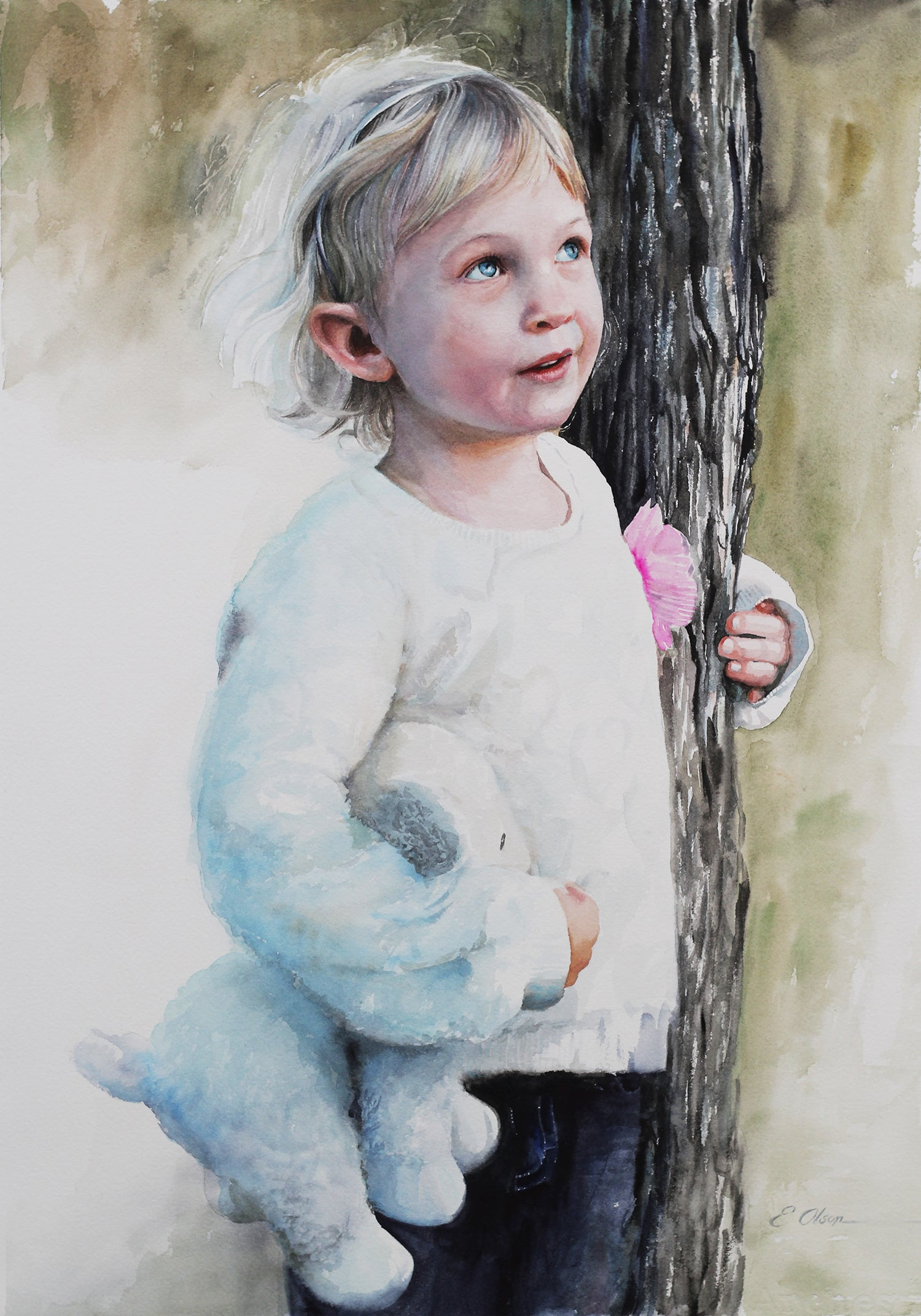 Everyday Wonder Original Watercolor Painting