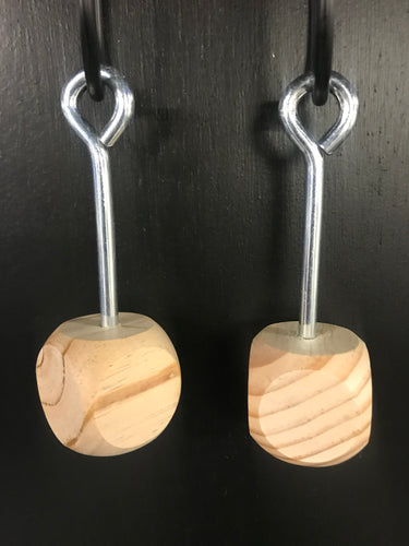 Ninja training wood dice