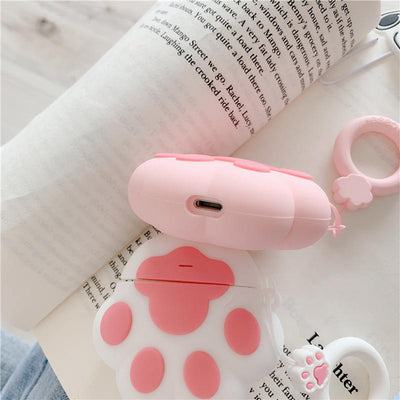 Cute Pet Paw Case For EarBuds