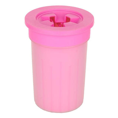 Doggy Paw Cleaning Cup iPetUniversal Pink 10.5x10.5x8.2cm