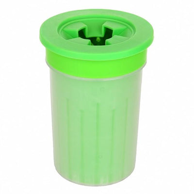 Doggy Paw Cleaning Cup iPetUniversal Light Green 10.5x10.5x8.2cm