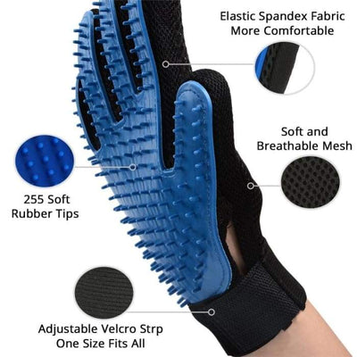 Ultimate Pet Grooming Glove iPetUniversal