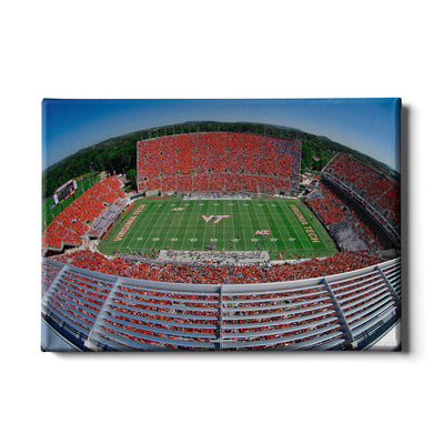 Virginia Tech Hokies - Fish Eye Aerial Lane Stadium