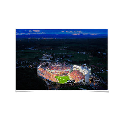 Virginia Tech Hokies - Aerial Sunset