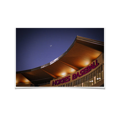 Virginia Tech Hokies - Crescent Moon Over Union Park