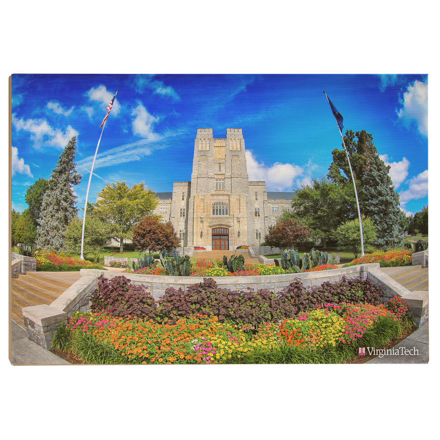 Virginia Tech Hokies - Summer Burruss Hall