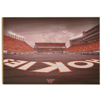 Virginia Tech Hokies - Hokie End Zone