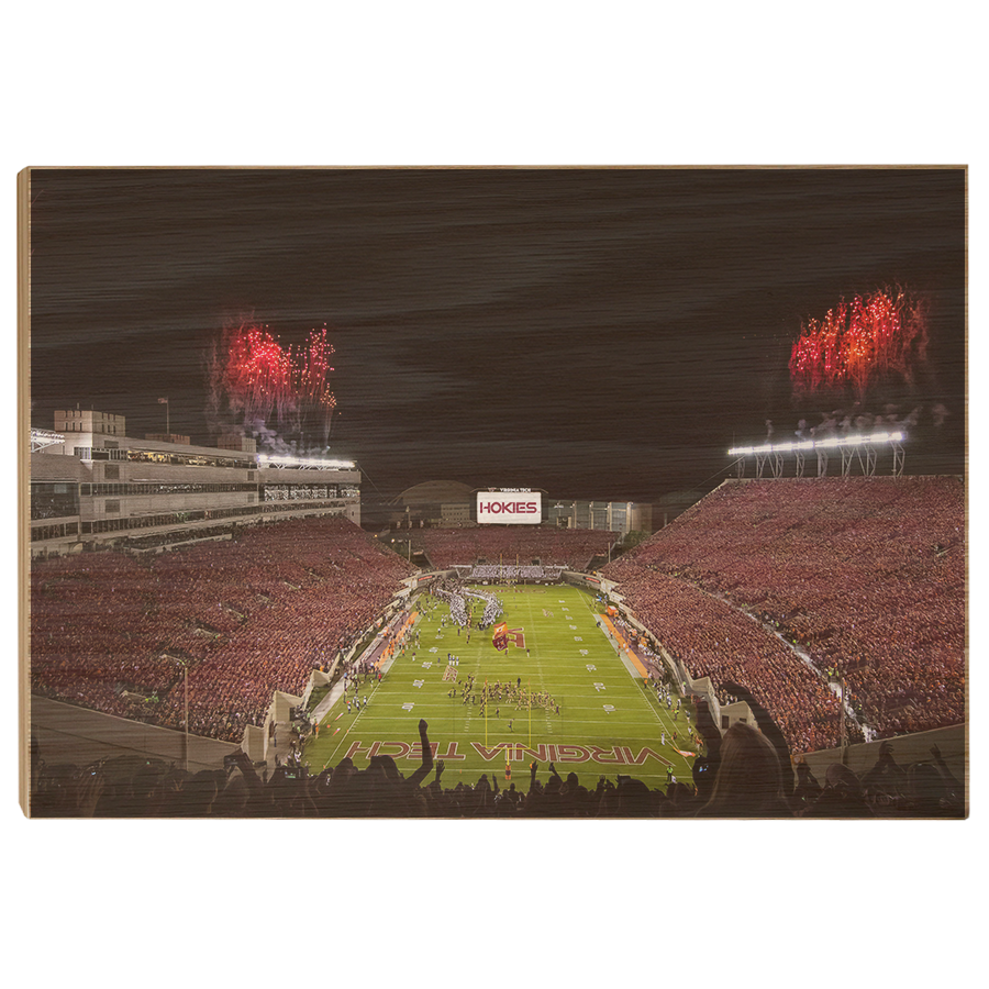 Virginia Tech Hokies - Enter Sandman Lane Stadium