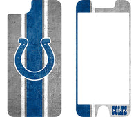 OtterBox Clear Symmetry Series Phone case with Indianapolis Colts Alpha Glass Screen Protector
