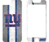 OtterBox Clear Symmetry Series Phone case with New York Giants Alpha Glass Screen Protector