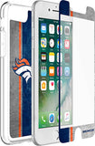 OtterBox Clear Symmetry Series Phone case with Denver Broncos Alpha Glass Screen Protector