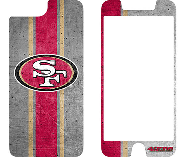 OtterBox San Francisco 49ers Alpha Glass Screen Protector