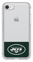 OtterBox Clear Symmetry Series Phone case with New York Jets Logo