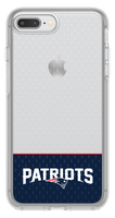 OtterBox Clear Symmetry Series Phone case with New England Patriots Logo