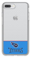 OtterBox Clear Symmetry Series Phone case with Tennessee Titans Logo