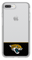 OtterBox Clear Symmetry Series Phone case with Jacksonville Jaguars Logo