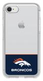 OtterBox Clear Symmetry Series Phone case with Denver Broncos Logo