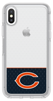 OtterBox Clear Symmetry Series Phone case with Chicago Bears Logo