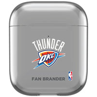 incase clear AirPod case with Oklahoma City Thunder Primary Logo