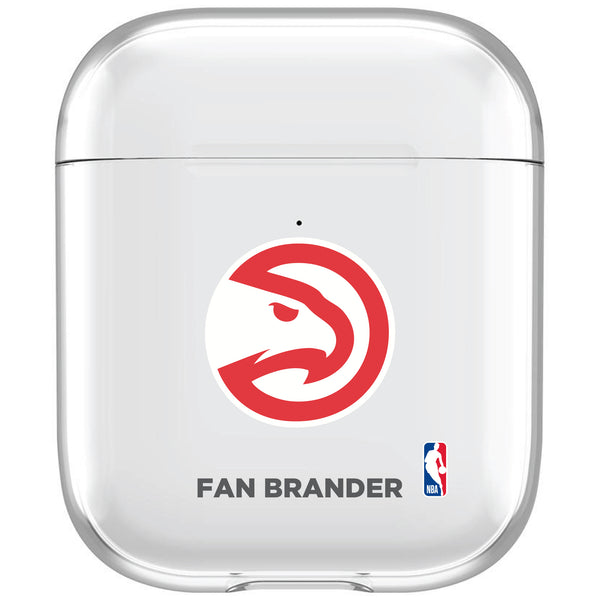 incase clear AirPod case with Atlanta Hawks Primary Logo