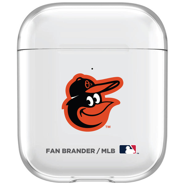 incase clear AirPod case with Baltimore Orioles Primary Logo
