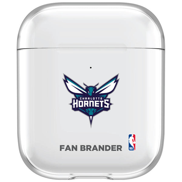 incase clear AirPod case with Charlotte Hornets Primary Logo