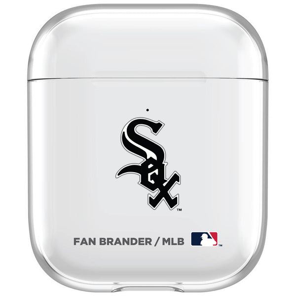 incase clear AirPod case with Chicago White Sox Primary Logo
