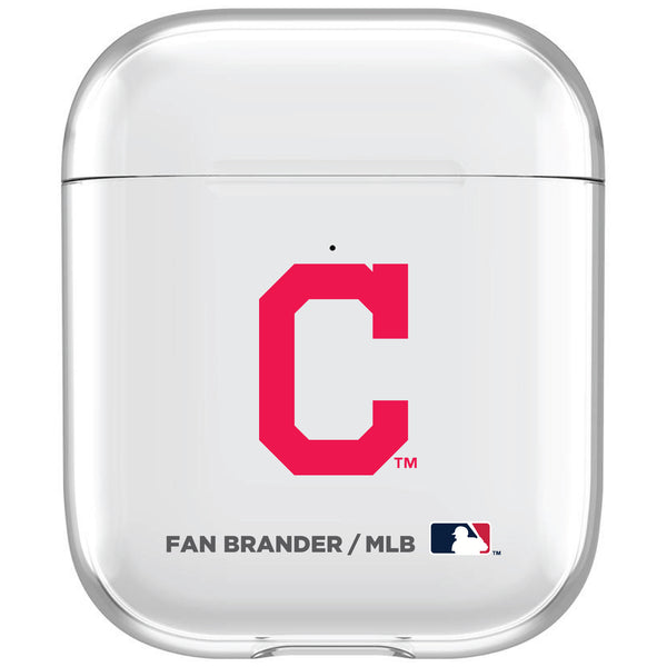 incase clear AirPod case with Cleveland Indians Primary Logo