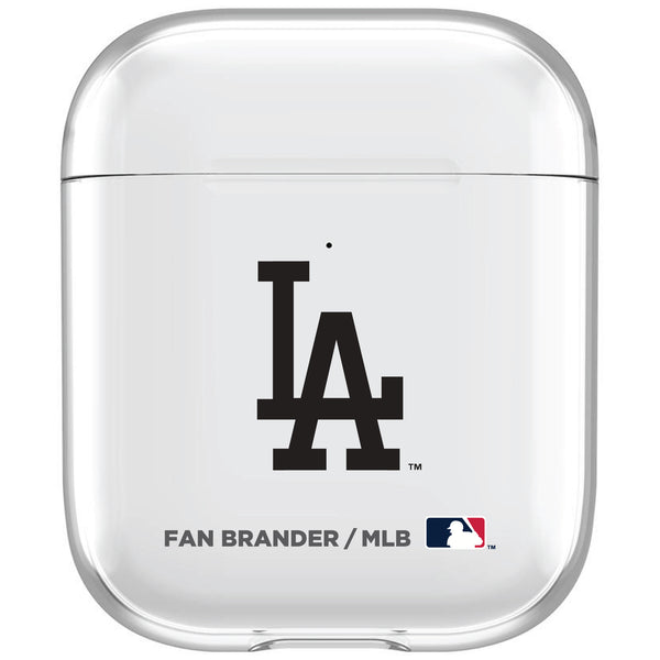 incase clear AirPod case with Los Angeles Dodgers Primary Logo