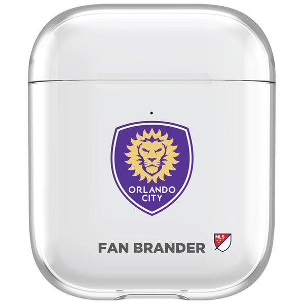 incase clear AirPod case with Orlando City SC Primary Logo