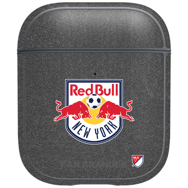 incase metallic AirPod case with New York Red Bulls Primary Logo