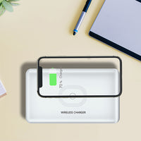 Portable UV Smart Phone Sterilizer with Fast Wireless Charger with Portland Trailblazers Primary Logo